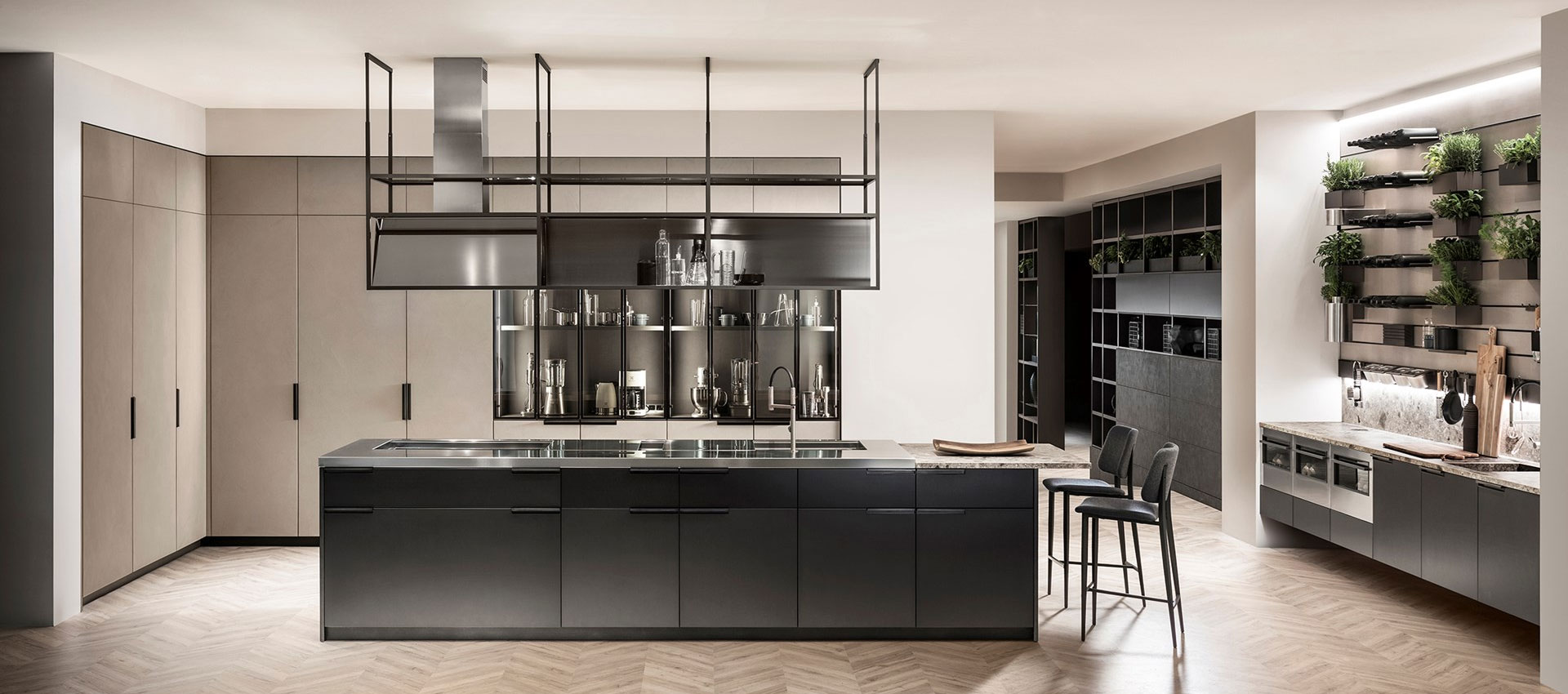 Slider direction 2 for Cucine piano cottura centrale